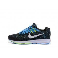 Good Nike Air Zoom Structure 20 Mens Black Blue Running Shoes Free Running Shoes, Nike Air Zoom Pegasus, Nike Free, Sneakers Nike, Blue, Men, Fashion, Nike Tennis, Moda