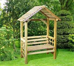 the athena garden arbour £98.99 http://www.gardensite.co.uk/Garden_Structures/The_Athena_Garden_Arbour.htm