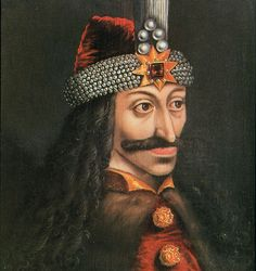 "Vlad Tepes - the original ""Dracula"". He did not really drink blood, but was named Dracula for his many torture techniques that ended with the victim in a blood bath. Vlad Der Pfähler, Vlad El Empalador, Bram Stoker's Dracula, Count Dracula, Vampire Dracula, History Jokes, Funny History, History Major, History Class"
