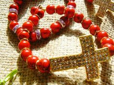 Rojo mas cruces..
