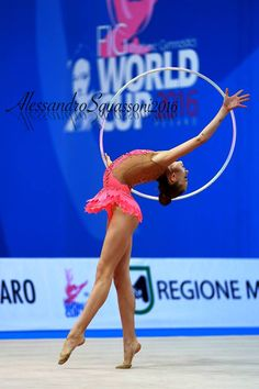 Kistina Semanova (Slovakia), junior, World Cup (Pesaro) 2016