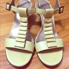 Size 8.5 wedges! Selling with box, only worn once. Willing to lower the price! Vaneli Shoes Heels