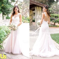 This!!! • Desiree Hartstock Wedding Dress co-designed by Maggie Sottero