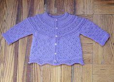 Free cardigan pattern