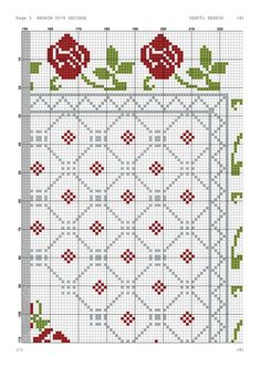Advent Calendar, Sewing, Holiday Decor, Crochet, Home Decor, Cross Stitch Embroidery, Table Runners, Punto De Cruz, Dots