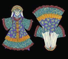 The Czarina Felina fabric by ceanirminger on Spoonflower - custom fabric