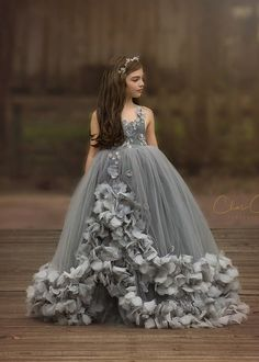 Callista Gown by  Anna Triant Couture    Couture flower girl and special occasion dresses