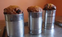 This recipe teaches you how to bake brown bread or quick breads the old fashioned way by using tin cans to make small loaves.