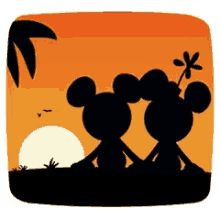 The perfect MickeyAndMinnieSunset Couple Romance Animated GIF for your conversation. Discover and Share the best GIFs on Tenor. Minnie Mouse Cartoons, Mickey Mouse And Friends, Mickey Minnie Mouse, Disney Mickey, Disney Art, Sunset Gif, Minnie Mouse Pictures, Mickey Mouse Tattoos, Classic Mickey Mouse