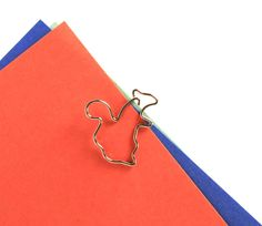 For the squirrely girl who has everything. ~ Squirrel - Midori D-Clip Paper Clips