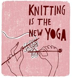 I love knitting - Knitting Love Knitting, Knitting Quotes, Knitting Humor, Baby Knitting, Knitting Patterns, Crochet Patterns, Crochet Simple, Free Crochet, Knit Crochet