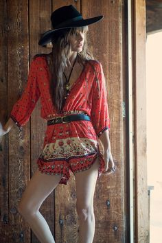 Desert Wanderer Playsuit - Sunset | Spell & the Gypsy Collective