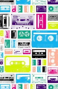Mix Tapes Art Print