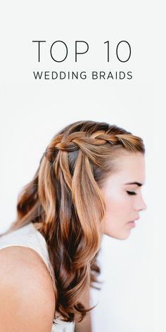 Top 10 wedding braid