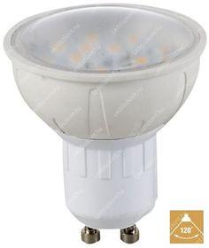 Dimmelhető, fényerőszabályozható led spotégő GU10 5W, 420 Lumen, meleg fehér. Life Light Led