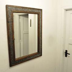 Oaktrail - Mirrorframe made of oak doorsteps and bikechain elements