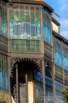The Casa Lis Museum of Art Noveau in Salamanca, Spain