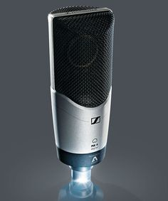 At prolight+sound, Sennheiser will preview the new digital version of its MK 4, one of the audio specialist's most popular recording mics. With high-quality Apogee A/D conversion and mic preamp tec… Studio Equipment, Studio Gear, Sound Studio, Usb, Hardware, Digital, Collaboration, Audio, Popular