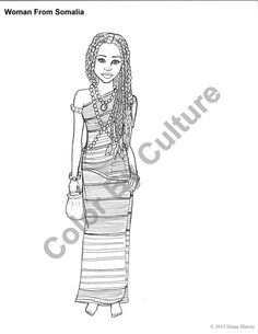 fashion coloring book printable around the world coloring pages volume 2 cultural coloring pages adult coloring pages - Fashion Coloring Pages 2