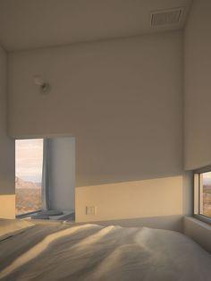 Four Eyes House by Edward Ogosta Architecture - Design Milk - Simple/V - Cream Aesthetic, Brown Aesthetic, Aesthetic Rooms, Design Minimalista, Interior Minimalista, My New Room, My Room, Architecture Design, Minimalist Architecture
