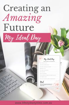 Visualize and create your future by designing your ideal day. Define your dream life by setting goals and creating your ideal day. Finding Purpose, Life Purpose, Can You Feel It, How Are You Feeling, Personal Goals, Future Goals, Smile Because, Setting Goals, Positive Mindset