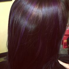 Chocolate and purple melt