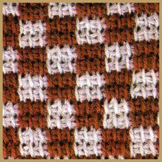 Verschiedene Tunesische Häkelmuster Tunisian Crochet, Crochet Stitches, Crochet Hooks, Knit Crochet, Afghan Stitch, Hairpin Lace, Crochet Basics, Craft Items, Handicraft