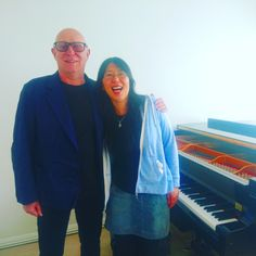Had the great Yuki doing some grand piano for the new album this week