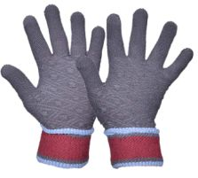 Windproof and Warm Hand Knit Gloves for Men/'s and Women/'s Small//Medium Winter Knitted Gloves HIMALAYAN TOUCHSCREEN UNISEX GLOVES