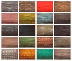 muestrario de telas para tapizar sillas