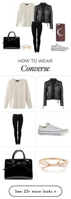 """Fall. Autumn. Cold."" by christina29-2 on Polyvore featuring Nolita, Boohoo, MM6 Maison Margiela and Converse"