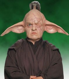 Even Piell was a long-lived Lannik Jedi Master who served on the Jedi High Council during the waning days of the Galactic Republic. A native of the war-torn planet Lannik, he was trained as a Jedi Knight at a young age, proving to be a fierce warrior and talented Force-user. He became a Master and was given a long-term seat on the Jedi Council. Piell also occasionally served with the Palace Guard of his species's prince and foiled an hit on the prince—at the cost of one of his eyes.