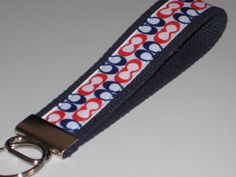 Coach Ribbon Key Fob Wristlet by OnceDesignedbyDianne on Etsy