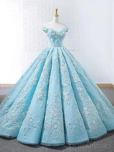 Off Shoulder Tiffany Blue Ball Gown Cheap Long Evening Prom Dresses, Cheap Custo. - Off Shoulder Tiffany Blue Ball Gown Cheap Long Evening Prom Dresses, Cheap Custom Sweet 16 Dresses, 18532 Source by cilenealba - Blue Evening Dresses, Prom Dresses Blue, Pretty Dresses, Elegant Dresses, Wedding Dresses, Evening Gowns, Gown Wedding, Sweet 16 Dresses Blue, Blush Prom Dress