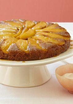 Mango-Ginger Upside-Down Cake