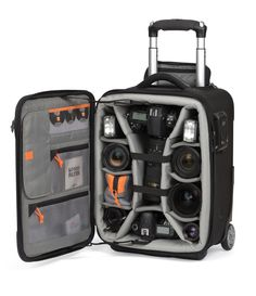 My rolling case! LowePro ProRoller