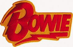 Bowie Logo Patch
