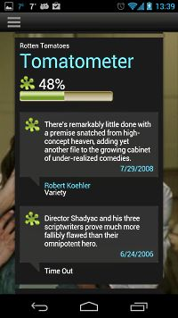 Ratings Screenshot