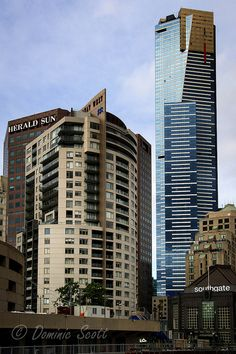 Eureka Tower Melbourne From Southgate | Flickr - Photo Sharing! Dominic Scott Photography