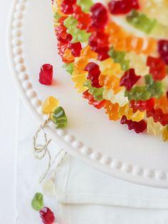 Gummy Bear Layer Cake (by raspberri cupcakes)