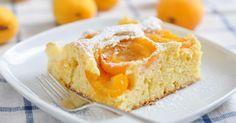 Recette de Gâteau au yaourt 0% et abricots. Facile et rapide à réaliser, goûteuse et diététique. Ingrédients, préparation et recettes associées.