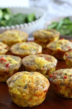 Sausage Pizza Egg Muffins that are Paleo, Whole30 friendly, Low Carb, and are a great easy make ahead breakfast or snack idea.  Dairy Free, grain free.