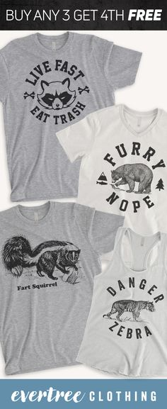 Shop funny animal pun shirts like Pun Shirts, Cool Shirts, Animal Puns, Funny Animals, Funny Tees, Funny Tshirts, Shops, Personalized T Shirts, Casual Elegance