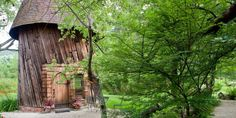 You can stay in this rustic silo house!