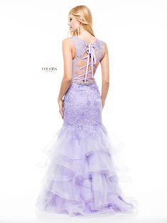 Colors Dress 1829 Purple Corset Dress