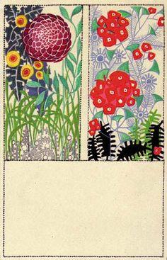 548. Maria Pranke, Wiener Werkstatte postcard