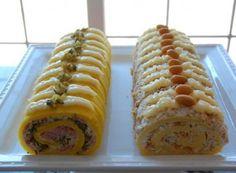 Domaći Kuhar - Deserti i Slana jela: Slani rolat My Favorite Food, Favorite Recipes, Czech Recipes, Sandwich Cake, Savoury Cake, Hot Dog Buns, Good Food, Brunch, Food And Drink