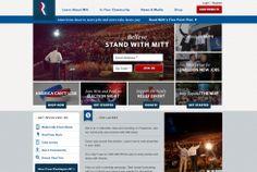 Mitt Romney también animaba a los ciudadanos a participar en la campaña a través de los medios sociales