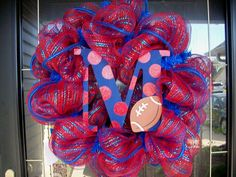 Cute Ole Miss wreath