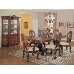 Acme Furniture - Versailles Pedestal Dining Table - 09955A  SPECIAL PRICE: $1,170.40